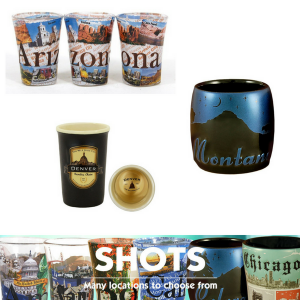 Americaware Shot Glasses