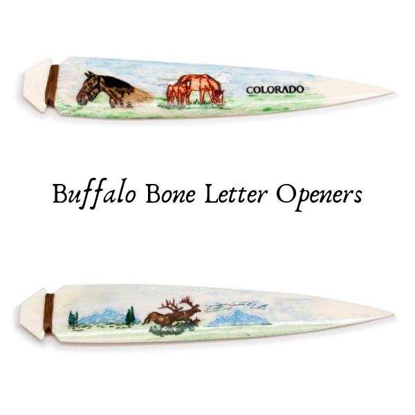 Ridgeway Buffalo Bone Letter Openers