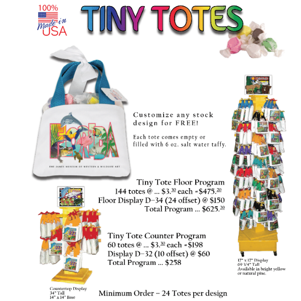 Artistic Impressions Tiny Taffy Totes