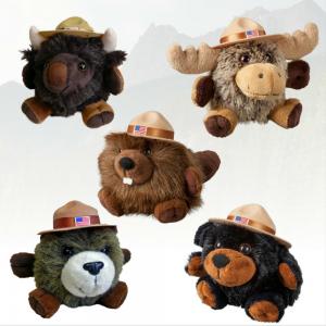 The Stuffed Animal House chubby animals