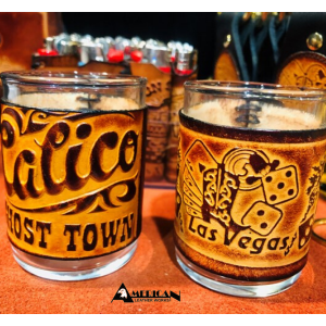 American Leatherworks Shot Glasses