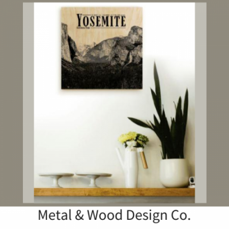 Metal and Wood Featured