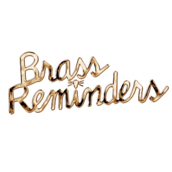 Brass Reminders Logo