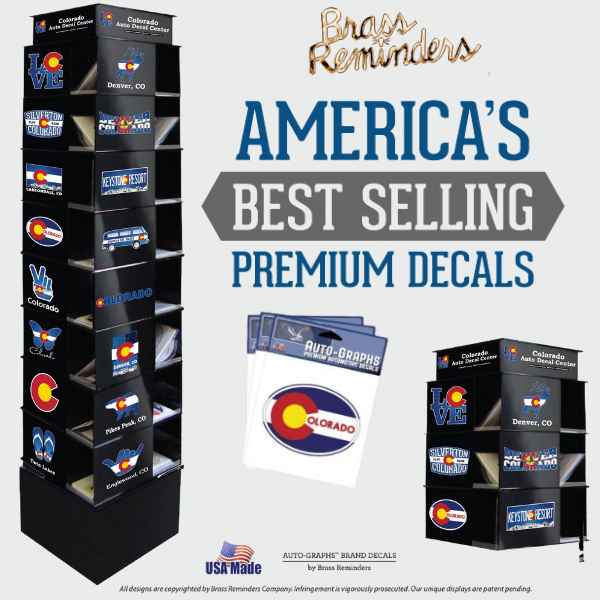 Brass Reminders Premium Decal