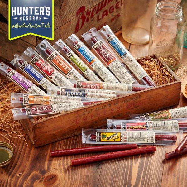Hunter's Reserve meat sticks